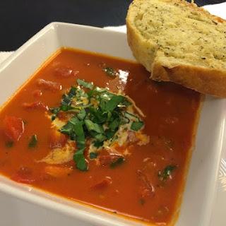 Tomato Basil Soup Mozzarella Recipes
