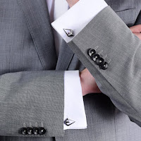 HEAD TO HEAD Asymetric Cufflinks