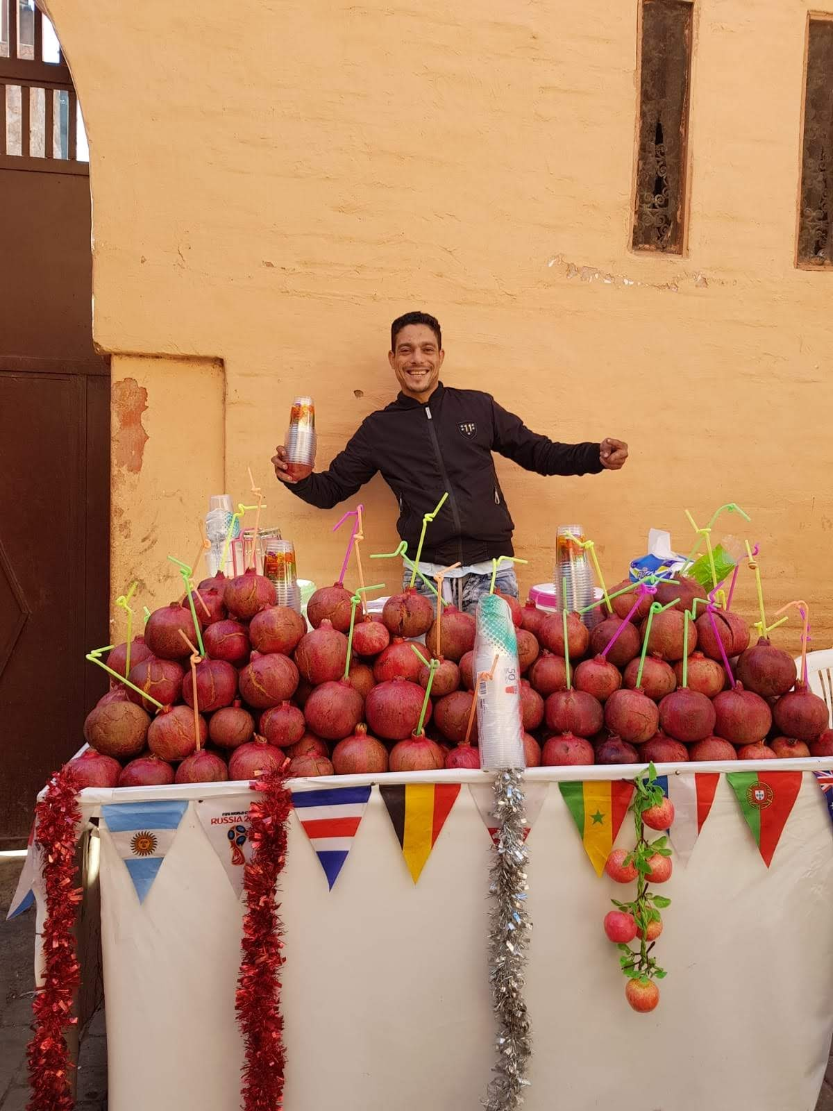 Fruit juice marrakech