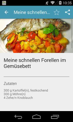 android Einfache & Schnelle Rezepte Screenshot 3