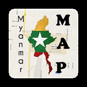 Myanmar Taunggyi Map