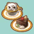ショコラなケーキセット