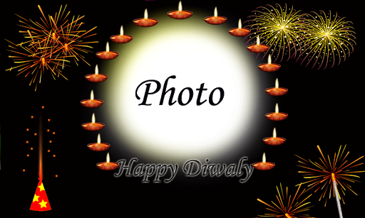Diwali Greating Photo Frames