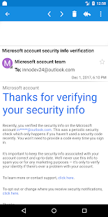 Email for Hotmail - Outlook App Screenshot