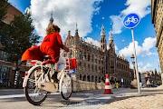 Город, в котором велосипедисты главные