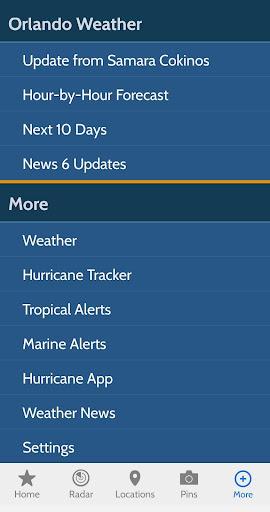 News 6 Pinpoint Weather screenshot 7
