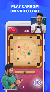 Hello Carrom – Live Video Chat with Friends 1