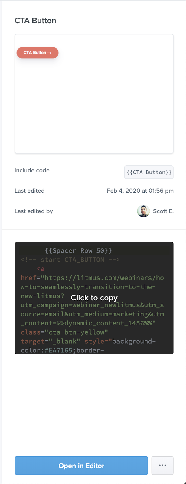 click to copy snippet