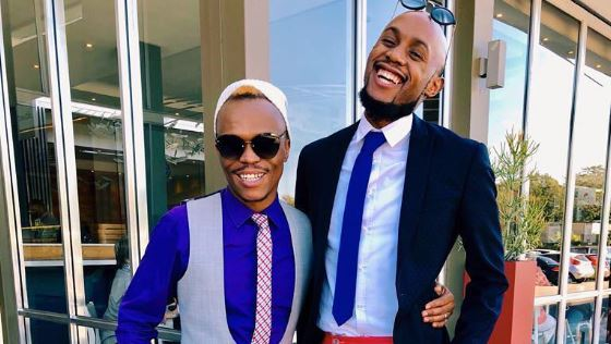 Somizi and Mohale are totes in love and it ain't an act.