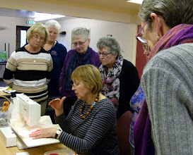 Photo: Machine Embroidery workshop with Kate Wells