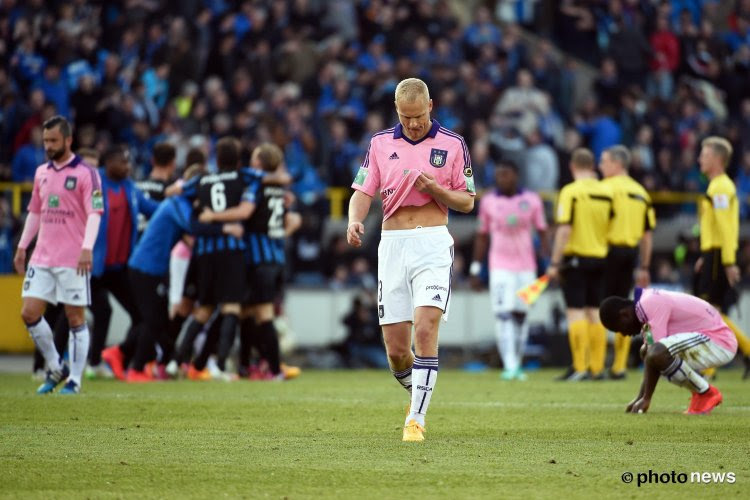 """Anderlecht impuissant face aux """"grands"""""""