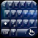Tema di tastiera GlassBlue icon