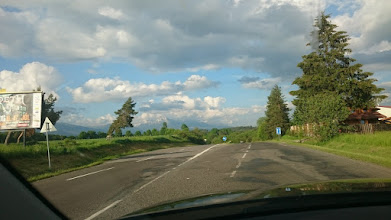 Photo: the (longer) north stream between bratislava and kosice consists mostly of highways ...