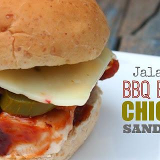 Simple Jalapeño BBQ Bacon Chicken Sandwich.