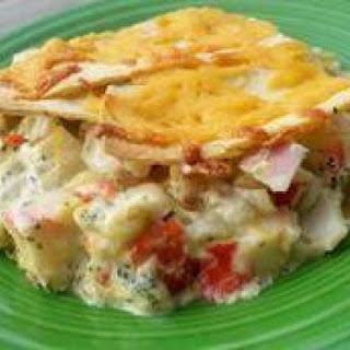 Crab Meat Casserole.