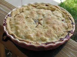 Bluebarb Pie