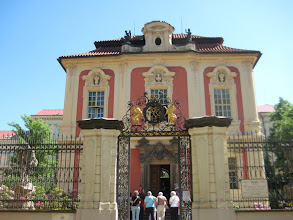 Photo: Dvorak museum.  Dvorak had nothing to do with this building, but the city owns it and leases it to the museum.