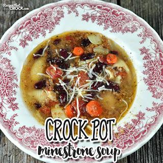Crock Pot Minestrone Soup Sausage Recipes