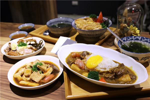 台南美食-米花飲食店 走心咖哩飯丨直男火烤丼 每日精燉熬煮限量擄獲你的心