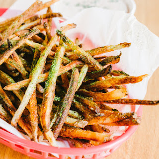 Crispy Oven French Fries with Black Garlic Onion Dip Recipe