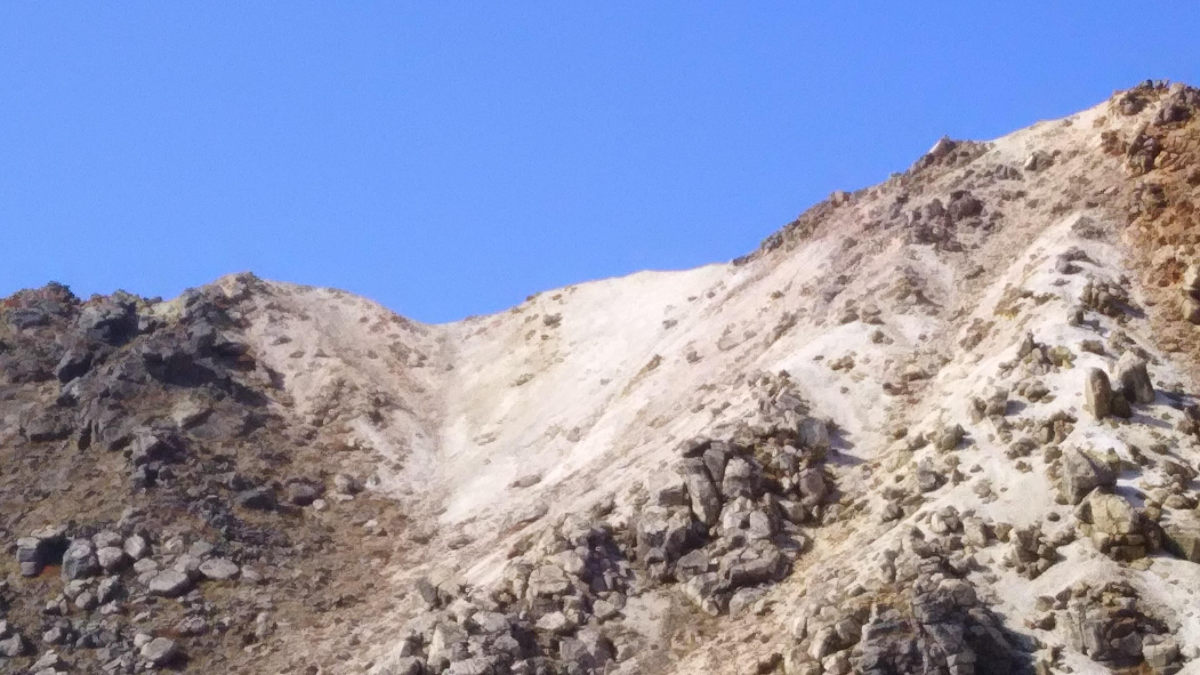 硫黄山見上