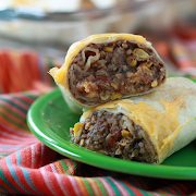 Bean & Cheddar Burrito