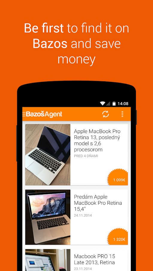 Bazos Agent- screenshot