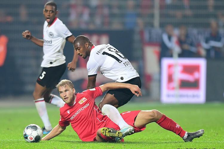 Francfort perd un autre de ses joueurs pour ses deux matchs face au Standard