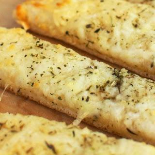 Cheesy Garlic Breadsticks.