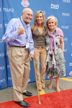 Photo: CLARKSTON, MI - AUGUST 12: (L-R) Representative John Dingell (D-MI), Sheryl Crow and Debbie Dingell attend the Palace Sports and Entertainment's Come Together Celebration concert at the DTE Energy Music Theater on August 12, 2012 in Clarkston, Michigan. (Photo by Paul Warner/Getty Images)