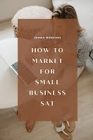 Small Business Sat Marketing - Pinterest Pin item