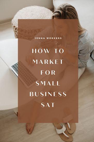 Small Business Sat Marketing - Pinterest Pin Template