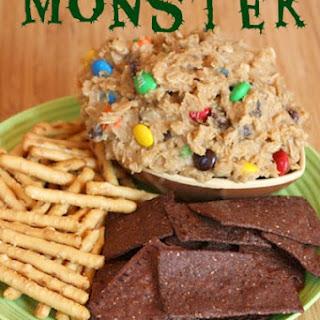 {flourless} Monster Cookie Dough Dip
