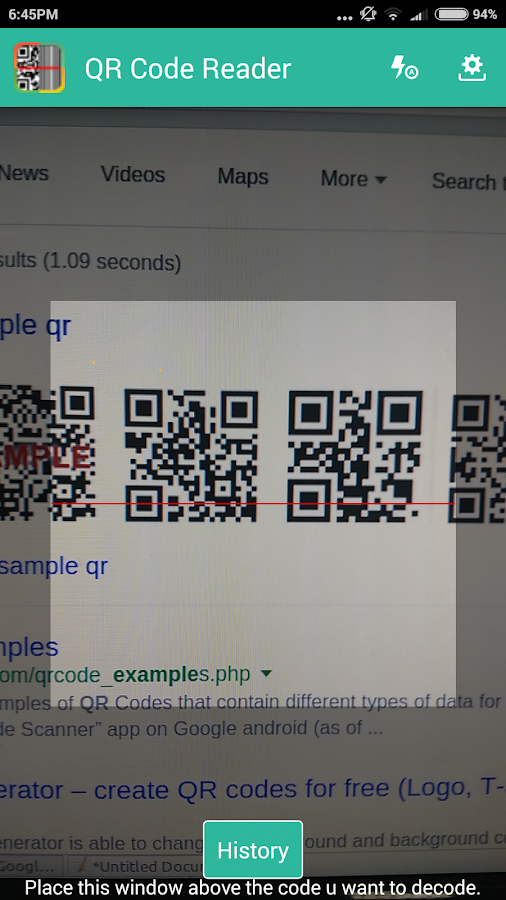 qr code android play store