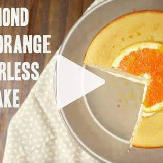 Almond And Orange Flourless Cake.