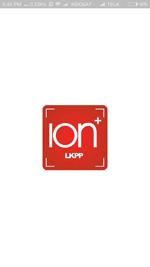 iON+ LKPP (Mobile Intranet)- screenshot
