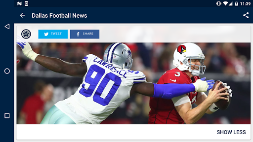 Dallas Football News  screenshots 5