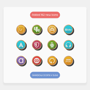 Shadows – Icon Pack 5.1.4 APK + MOD Download 3