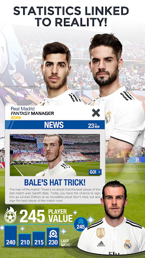 Real Madrid Fantasy Manager'18- Real football live  screenshots 3