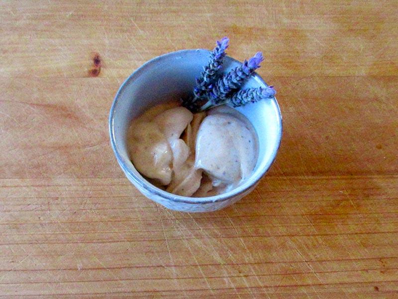 Serve and enjoy Dreamy Honeyed Banana healthy ice cream.