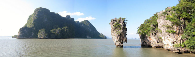 Photo: James Bond Island panorama