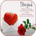 Love images with messages - Heart Touching Quotes icon