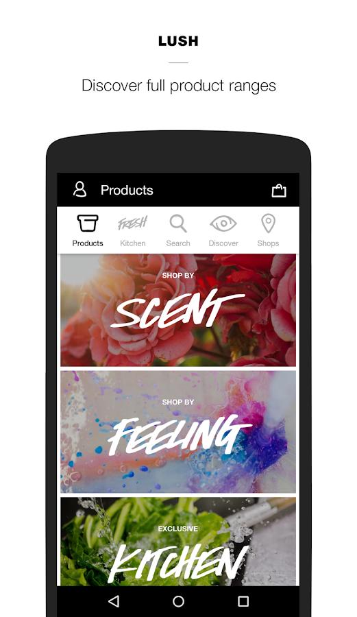 Lush Fresh Handmade Cosmetics - Android Apps on Google Play