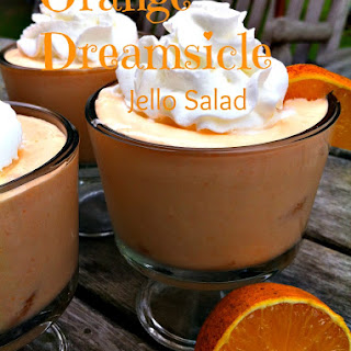 Orange Dreamsicle Jello Salad.