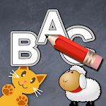 QCat write alphabet ABC (free) Apk