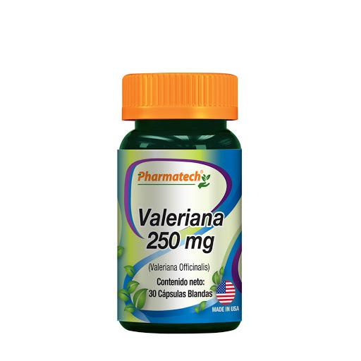 Valeriana 250 Mg 30 Capsulas Pharmatech