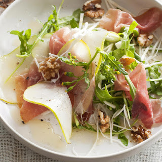 Prosciutto, Pear and Celery Root Salad