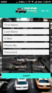 Five Star Car Service screenshot 2
