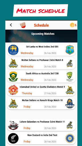 CricFL - Cricket Fantasy League screenshots 2
