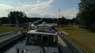 Photo: At the top of Lock 12, looking toward Campbellford